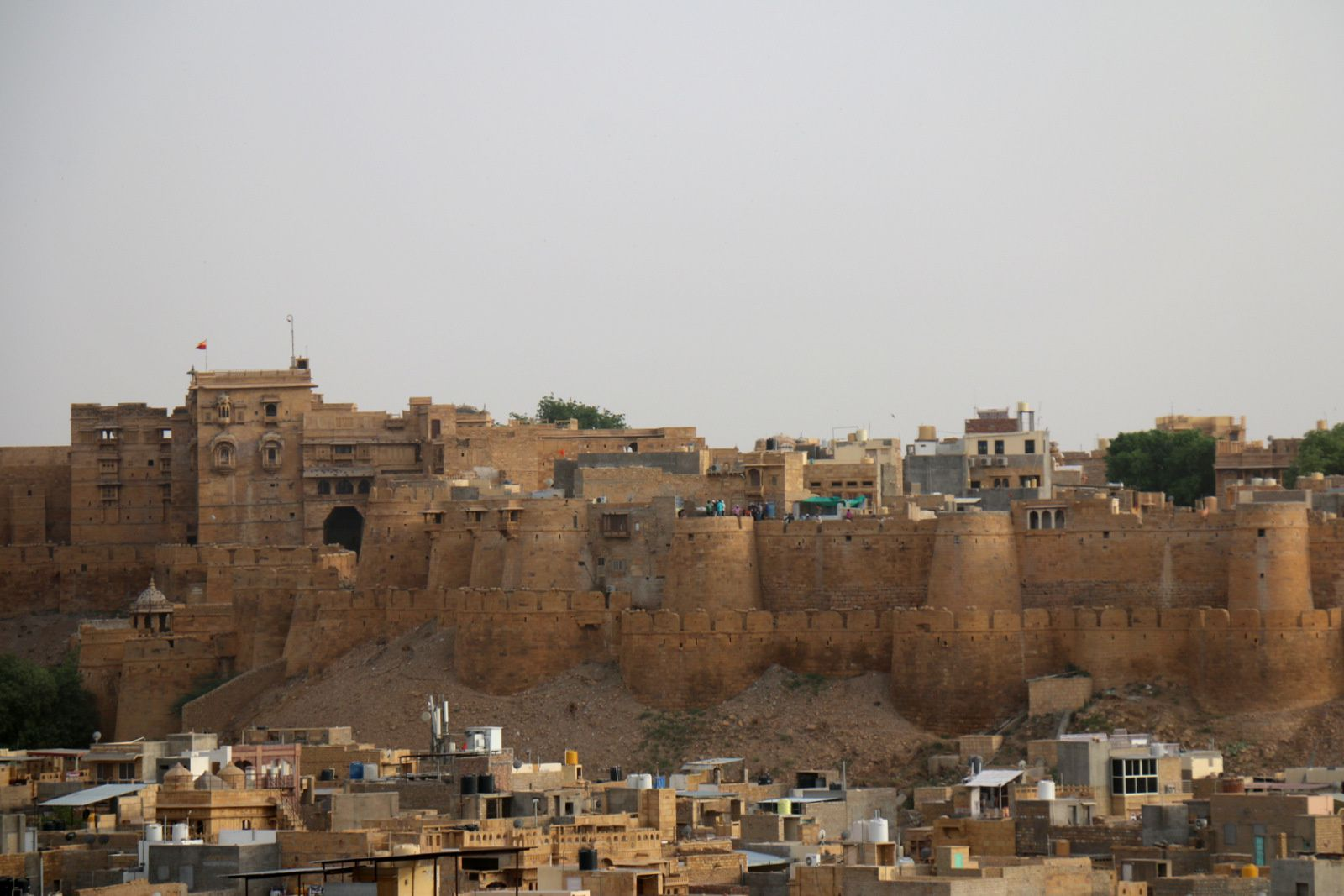 La forteresse de Jaisalmer, Rajasthan (Inde)