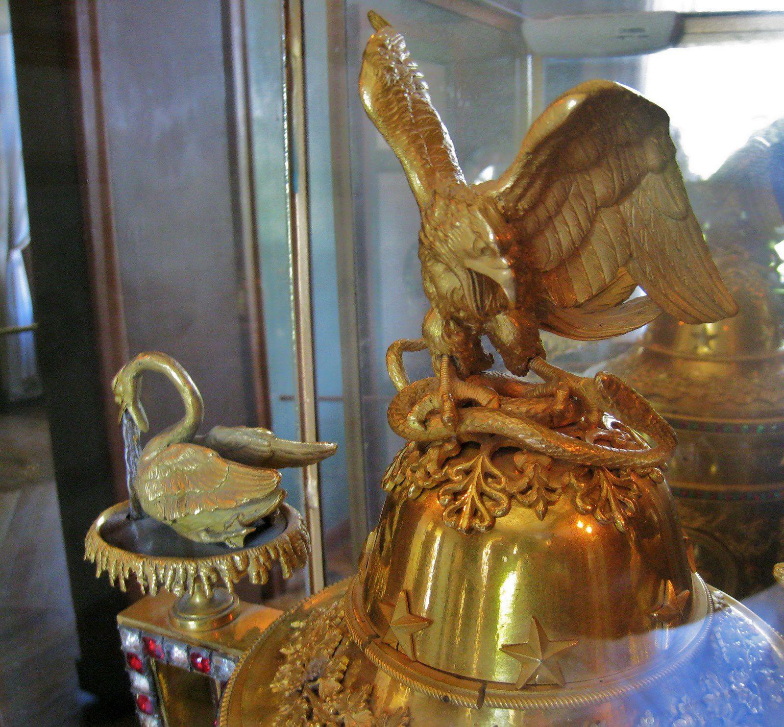 Pendule dite &quot&#x3B;à l'oiseau chanteur&quot&#x3B;