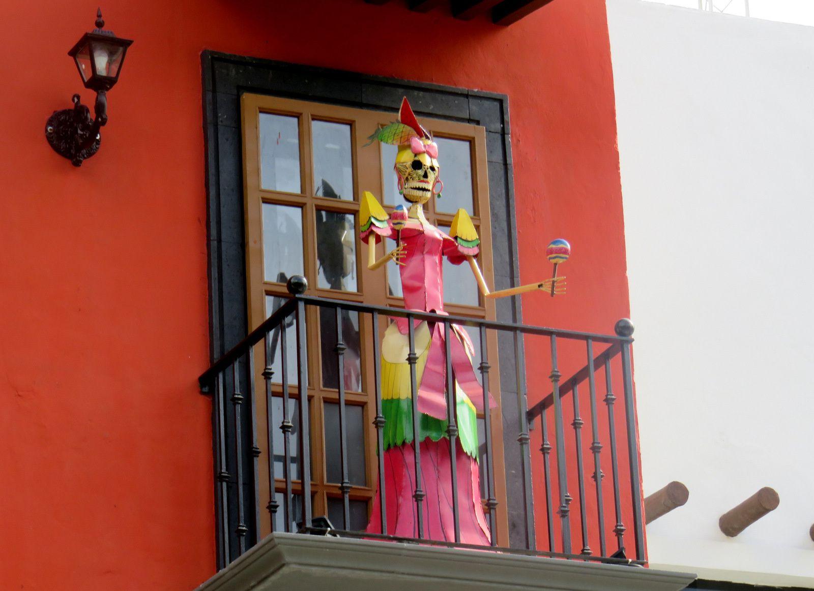 Photographes-enseignes à Carmen de Playa, Mexique