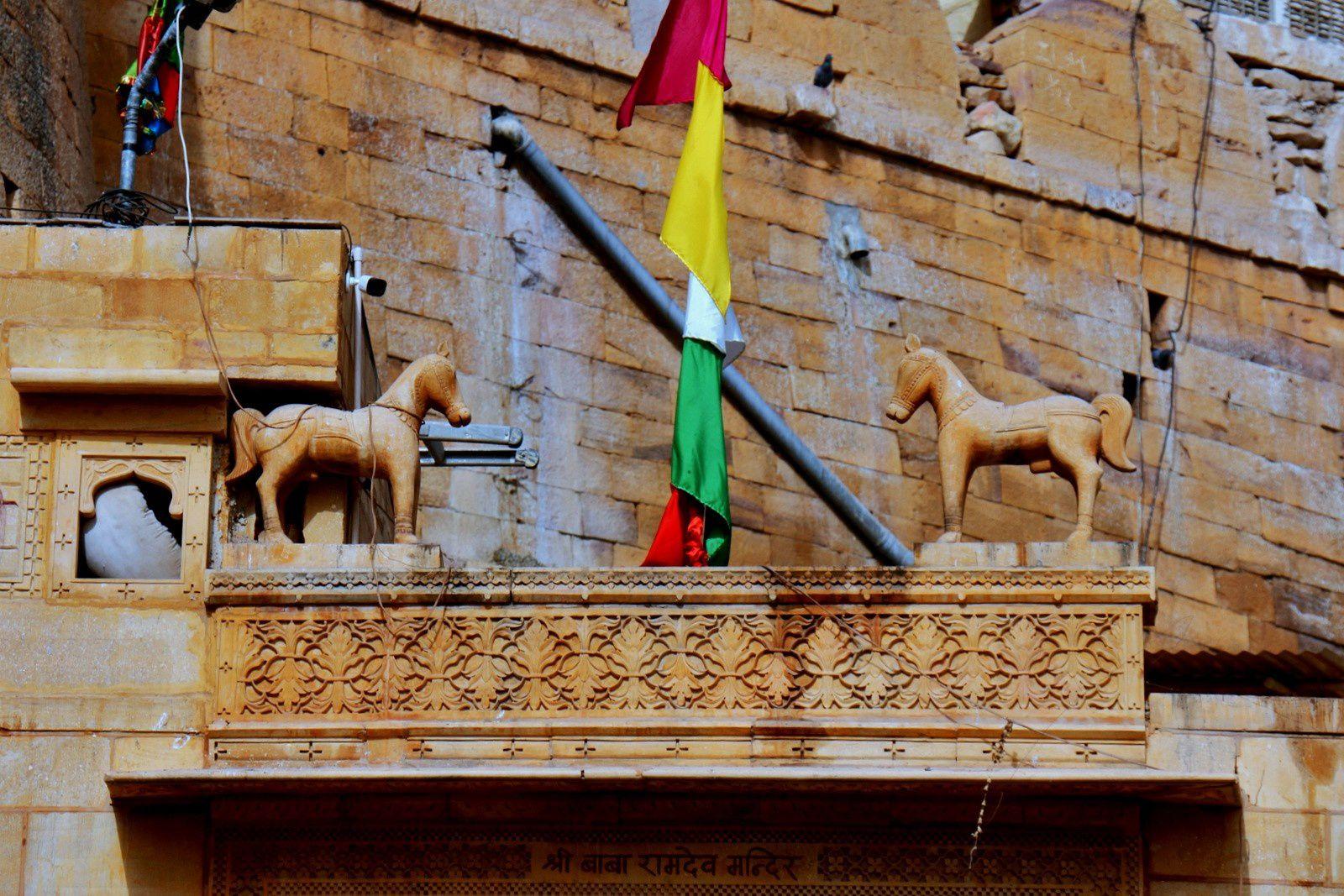 Citadelle de Jaisalmer, lieu de culte