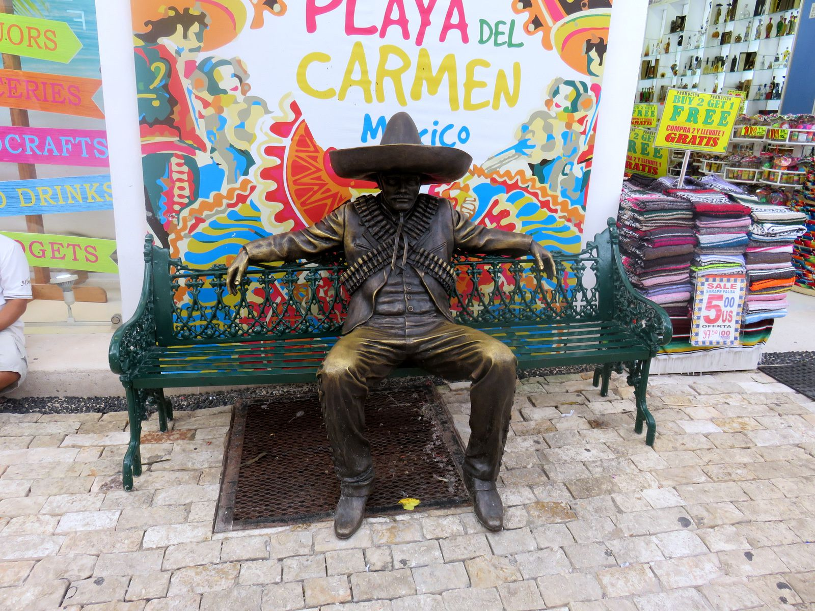Avenue Benito Juarez, Playa del Carmen (Mexique)