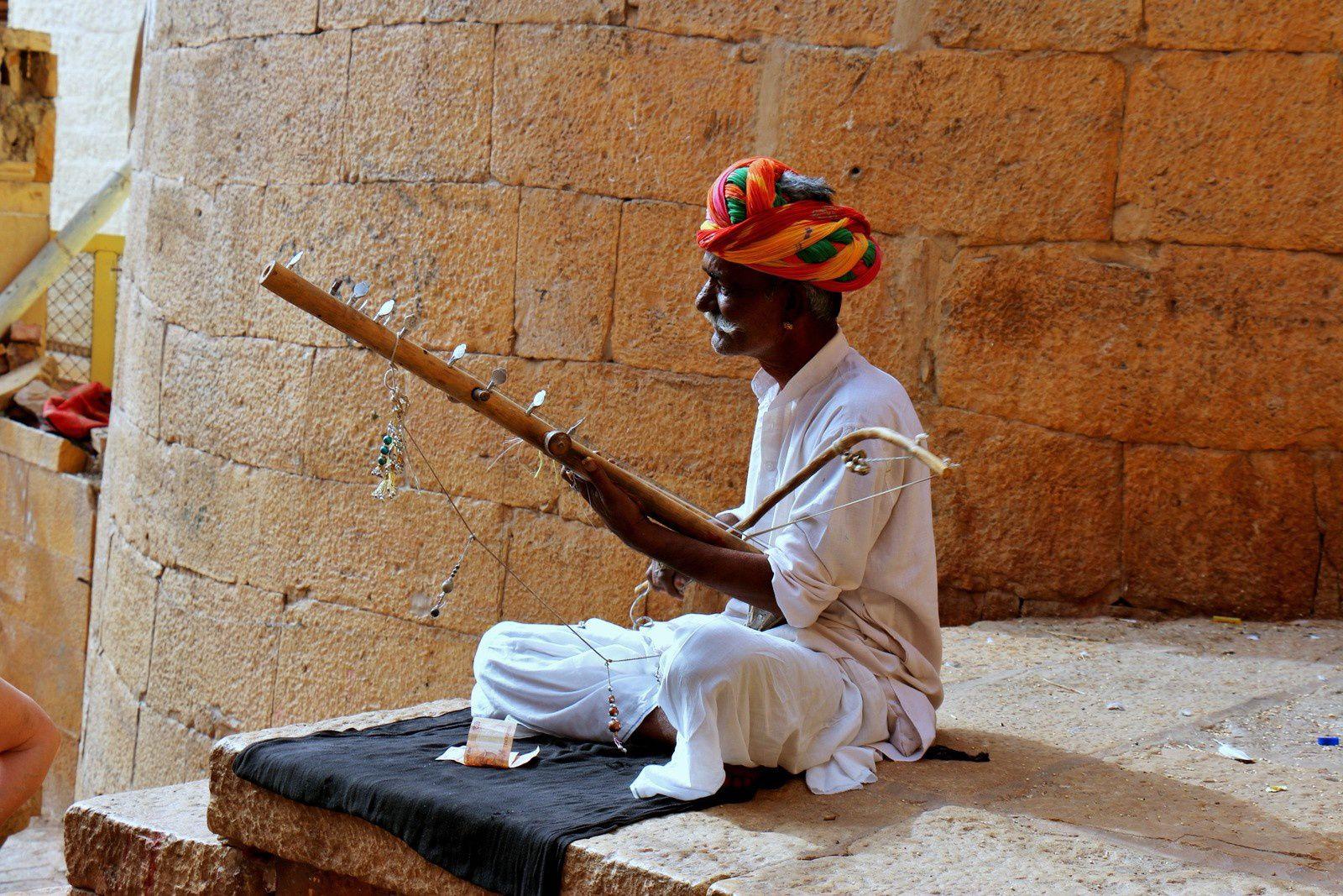 Citadelle de Jaisalmer, vers les remparts