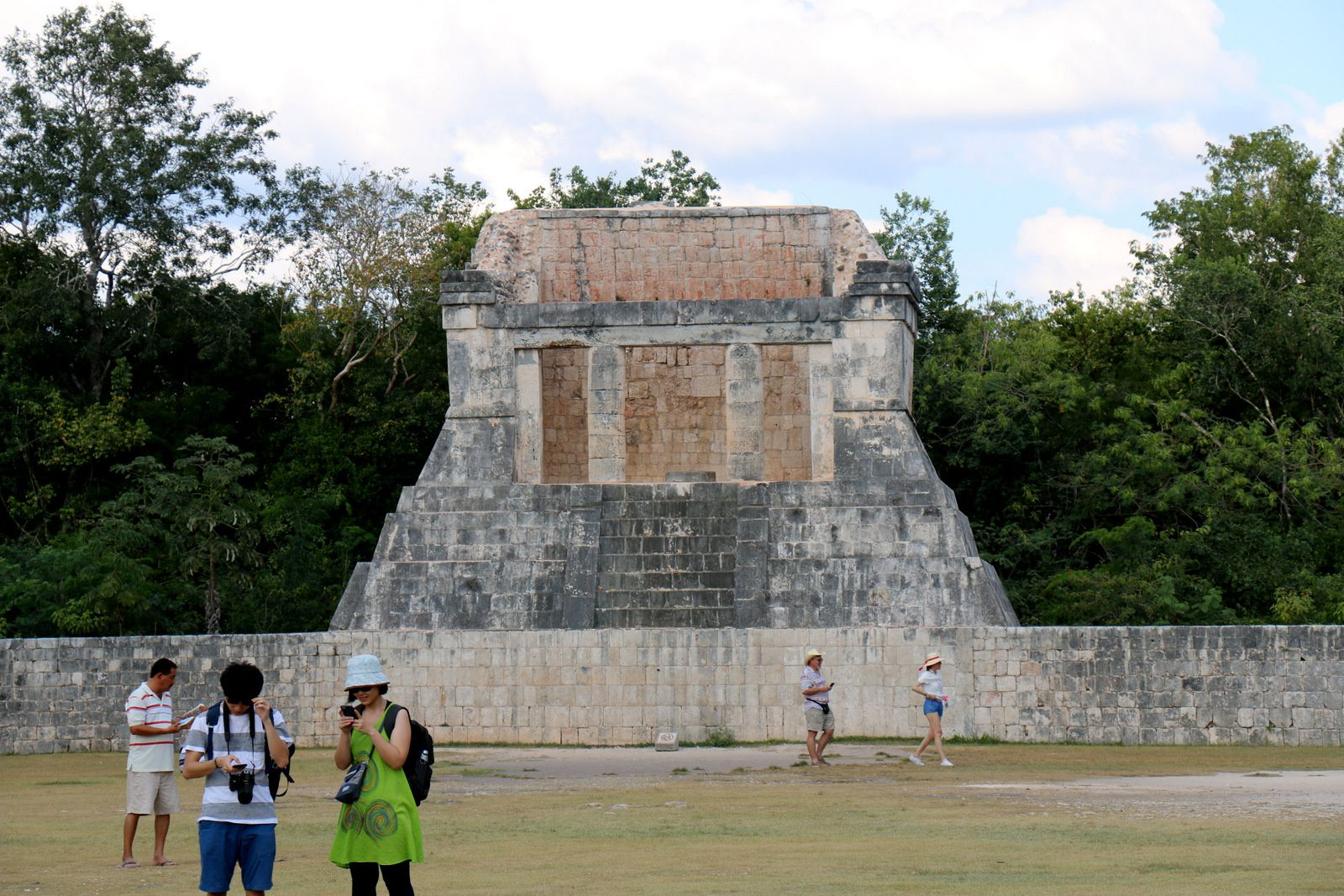 Le temple de l'homme barbu, Chichen Itza (Mexique)