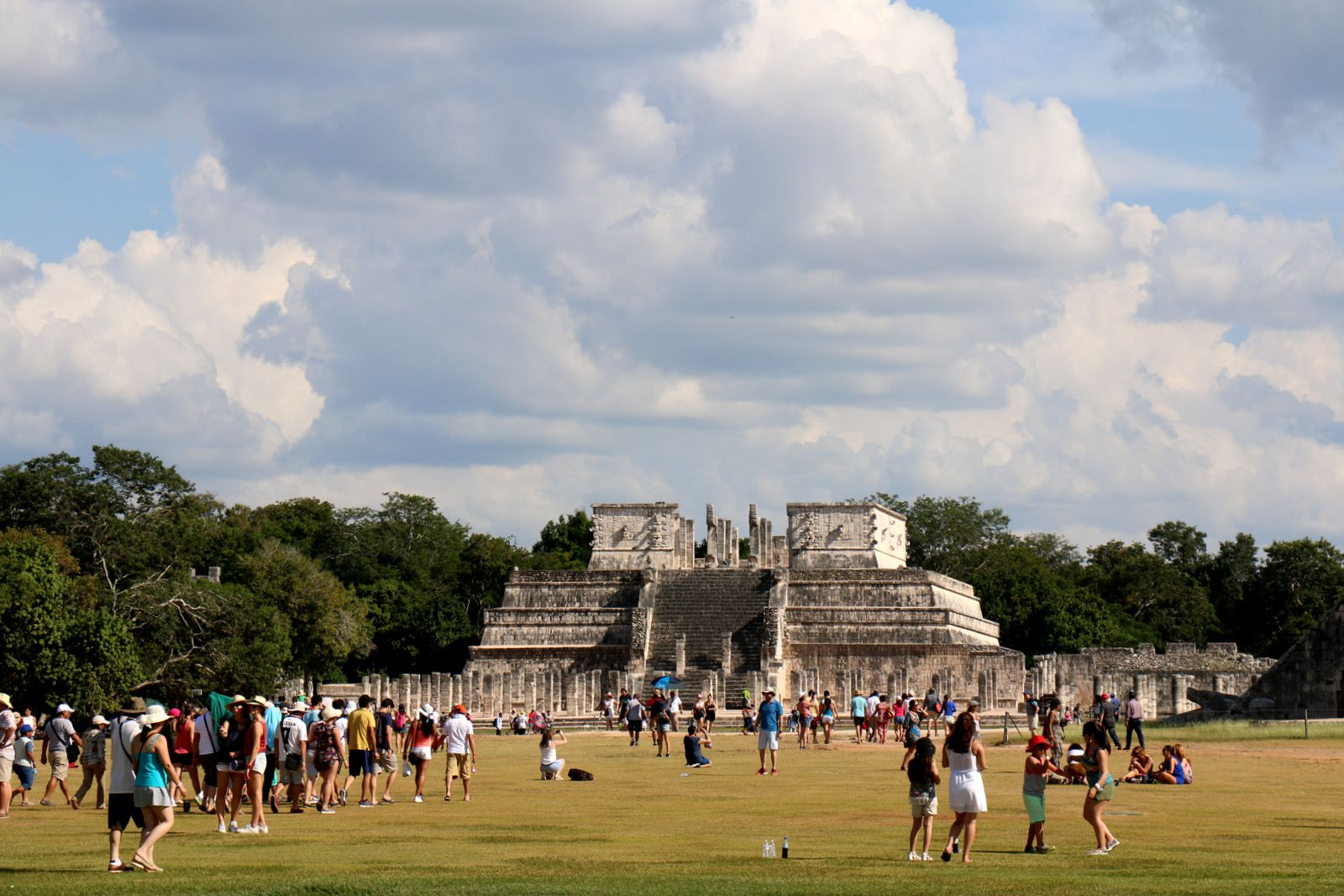 Le temple des guerriers, Chichen Itza (Mexique)