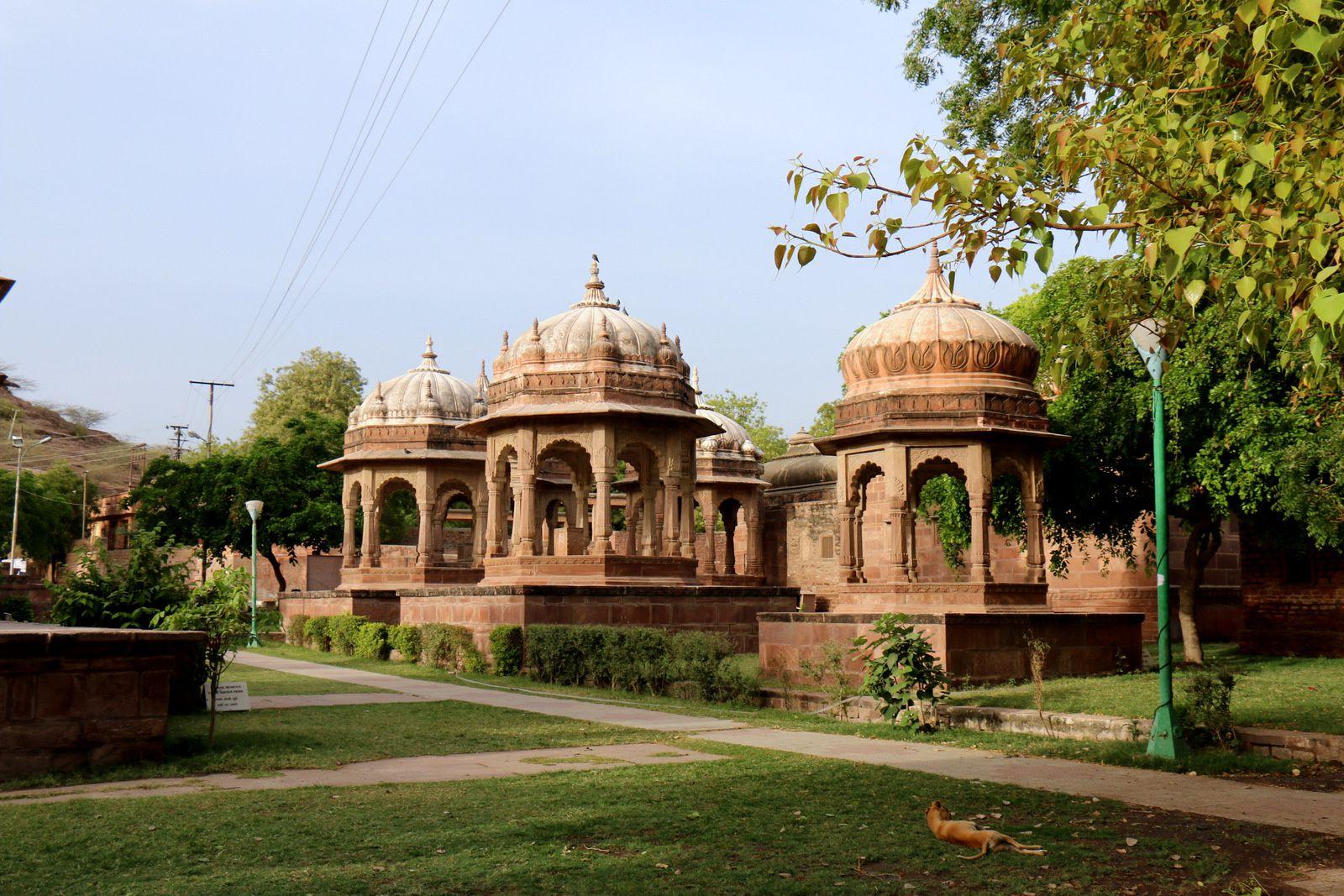 Cénotaphe du Maharaja Ajit Singh, Mandore (Etat indien du Rajasthan)
