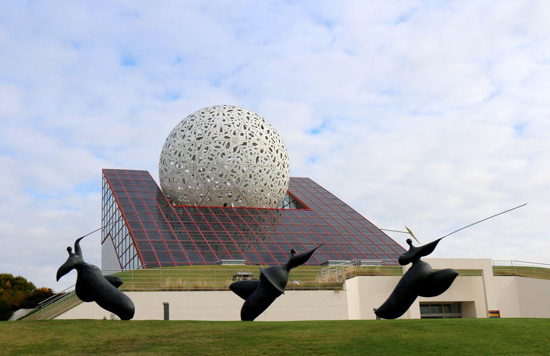 L'Arena et les cerfs volants, Futuroscope