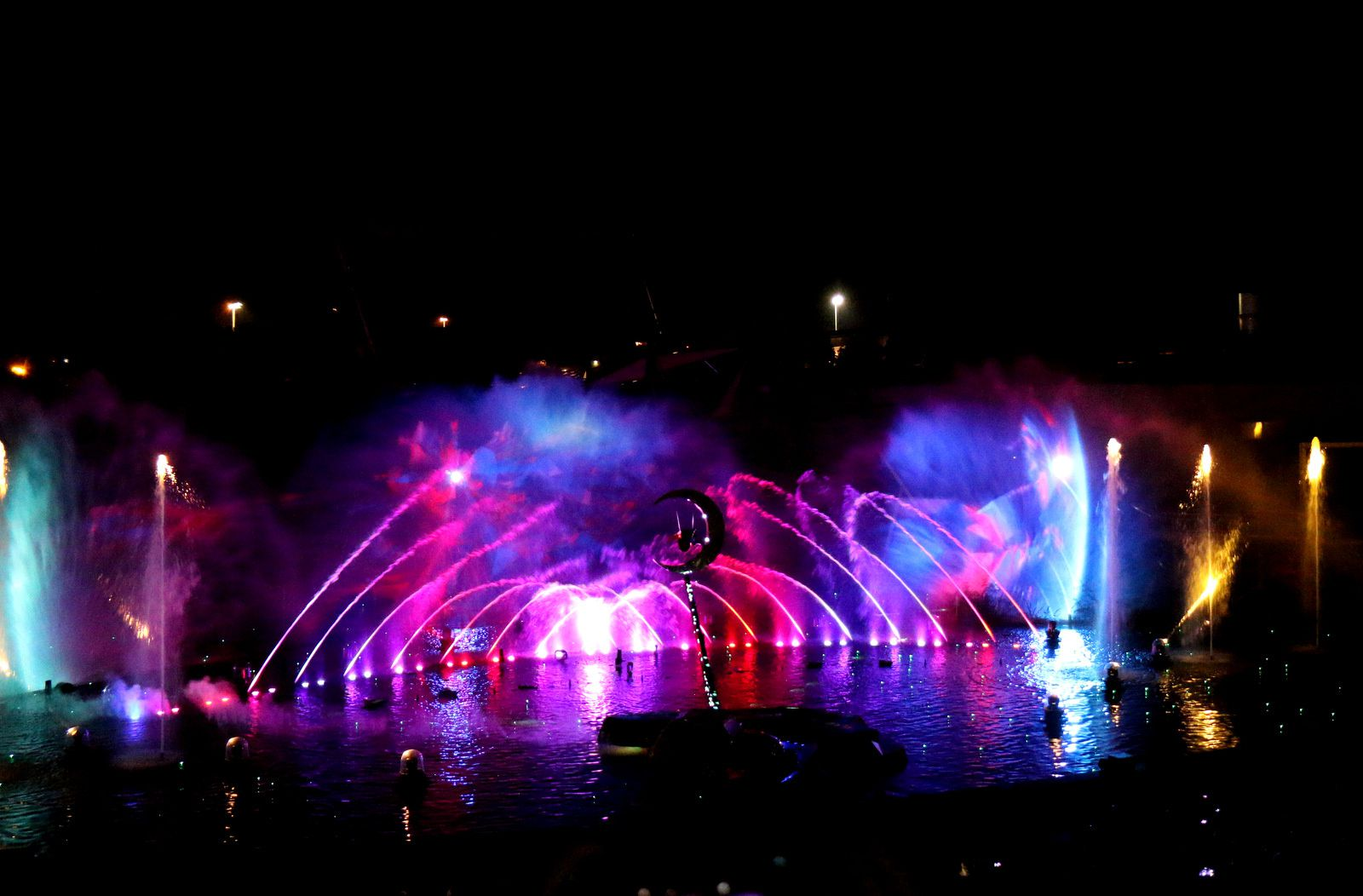 le spectacle nocturne   futuroscope