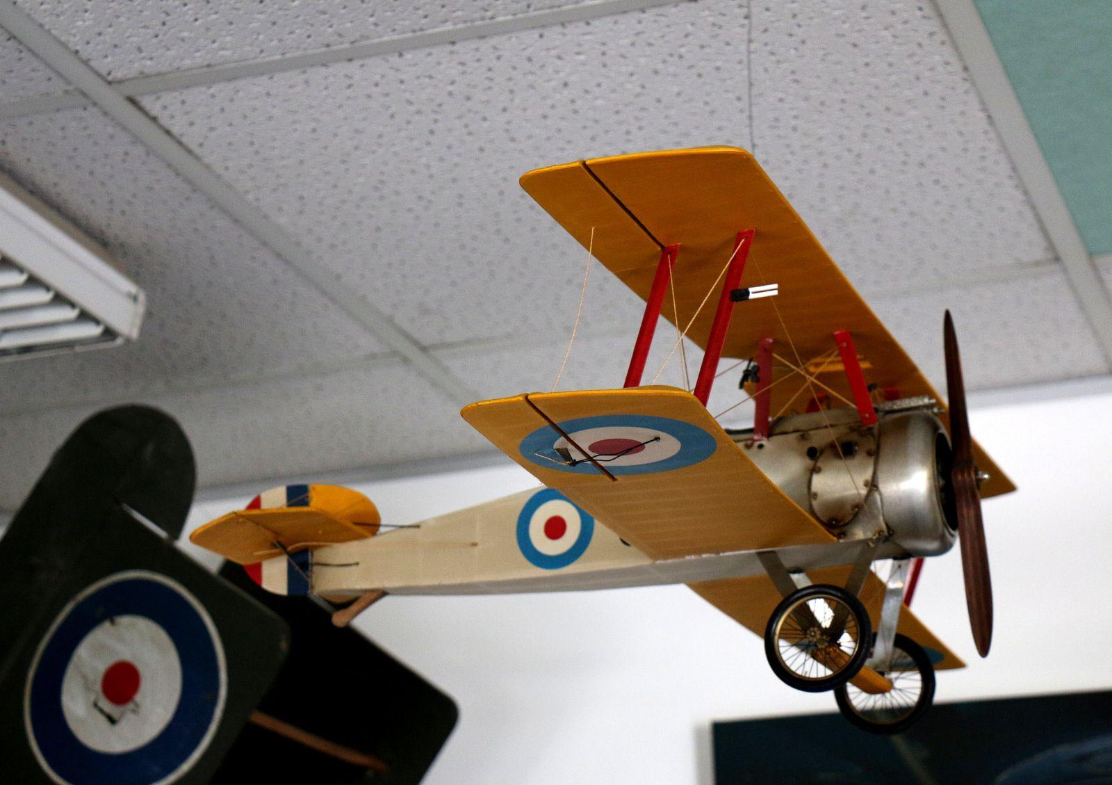 Musée de l'Aviation Clément-Ader, maquettes de la réception