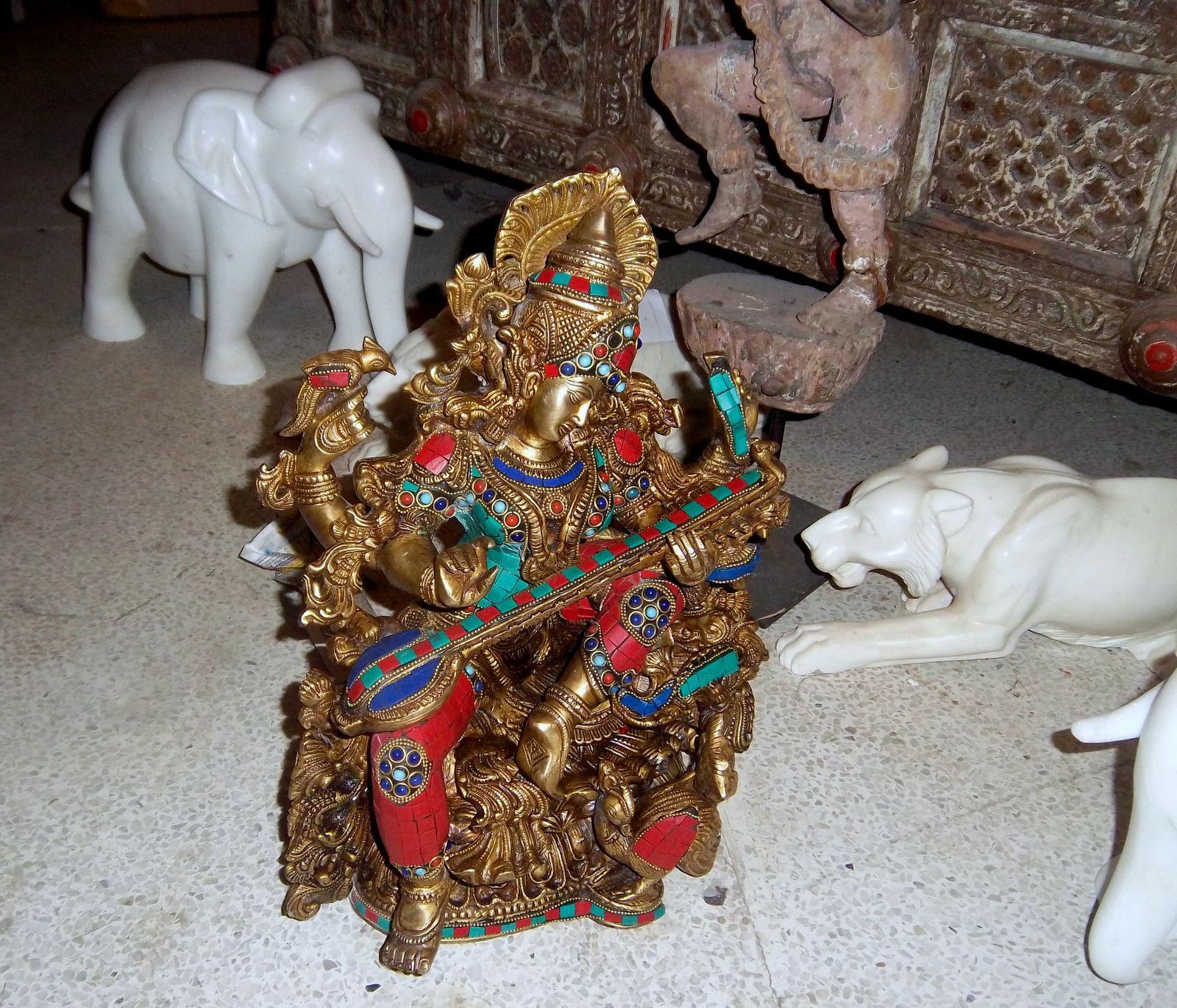 Maharani Textile (sculptures et objets divers, 2/2), Jodhpur (Inde)