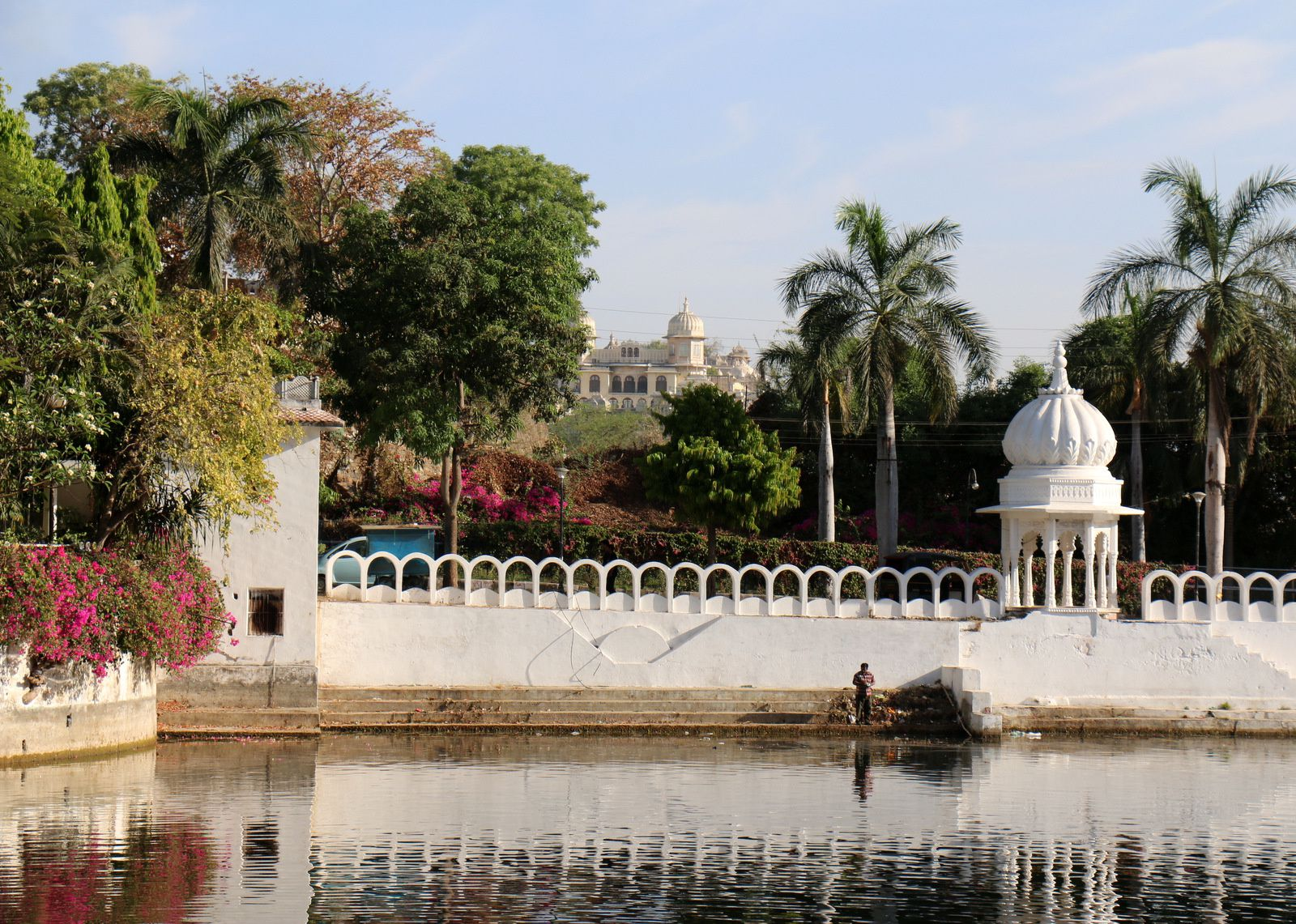 Lac Pichola, Udaipur, Inde