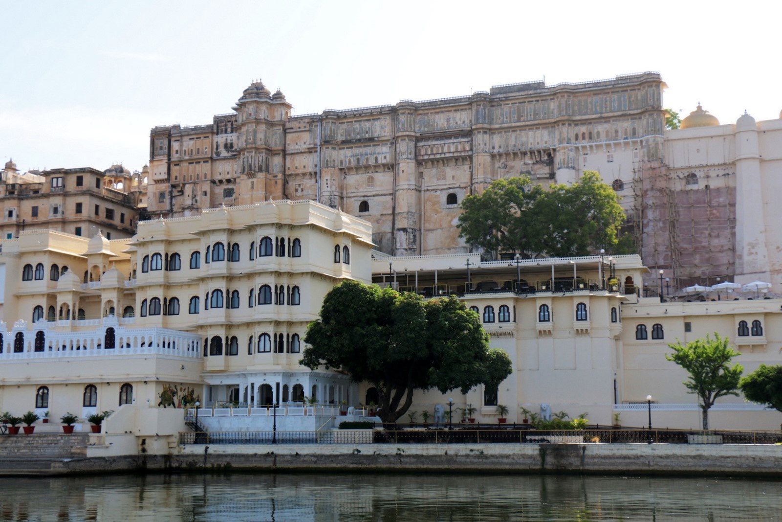 City Palace, lac Pichola (Rajasthan, Inde)