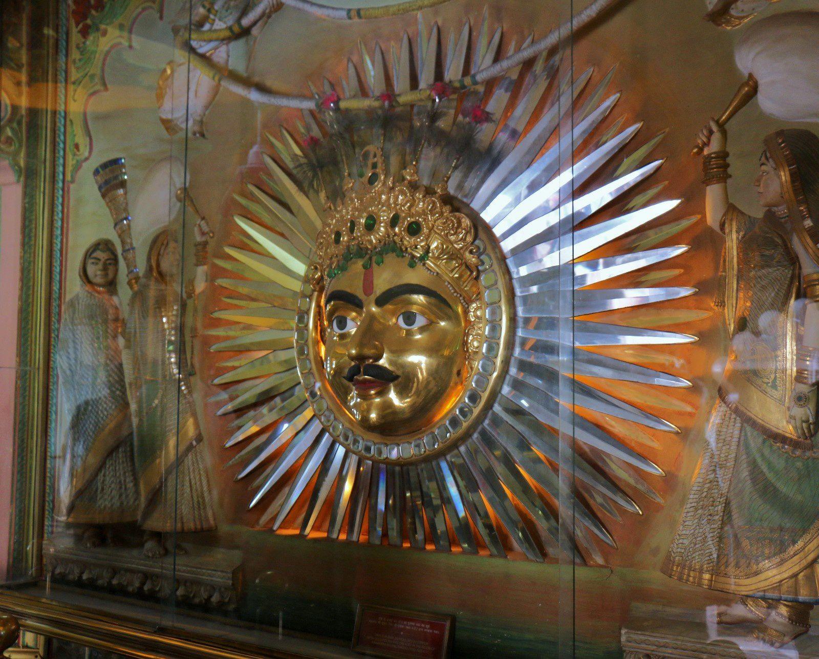 City Palace Museum (Udaipur, Inde), maharana Bhupal Singhji