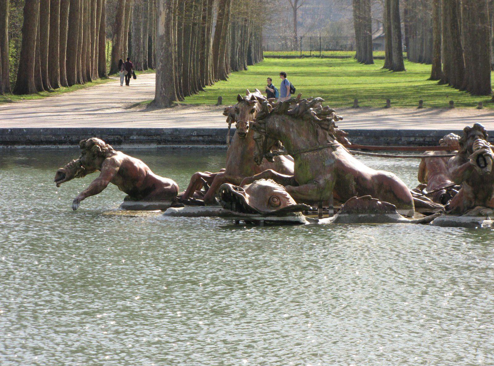 Bassin d'Apollon, parc de Versailles