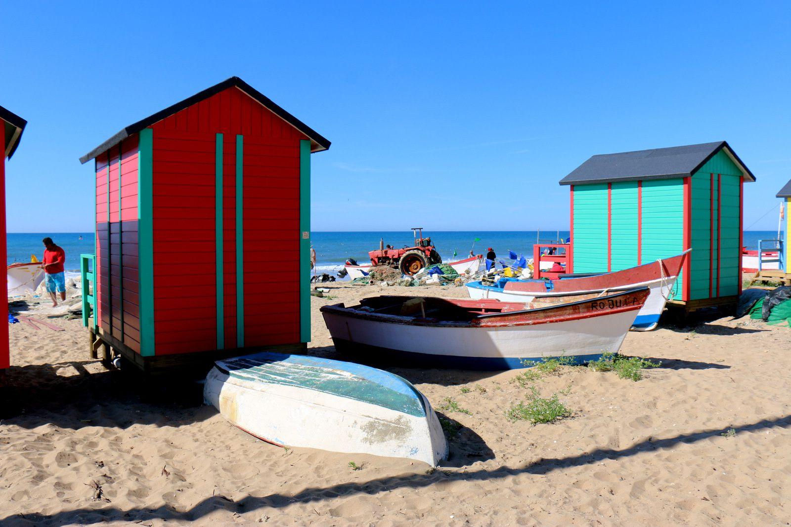 Le port d'Islantilla, Andalousie (Espagne)