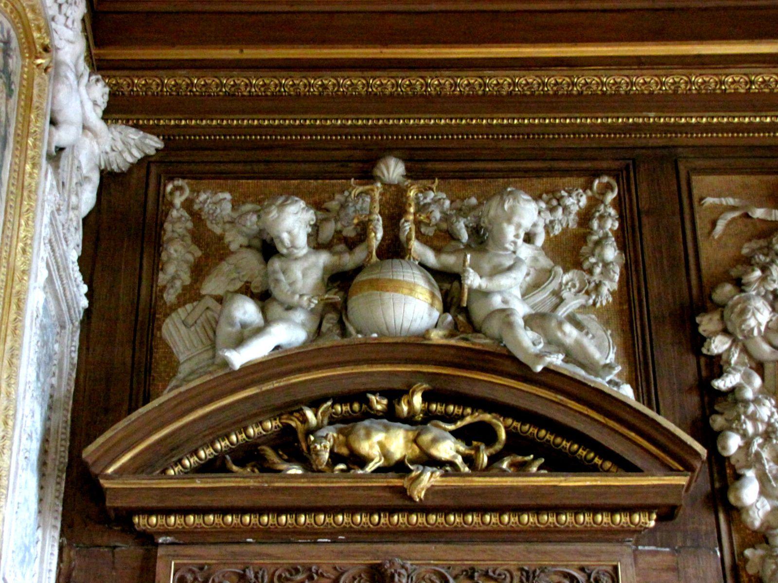 Buste de François 1er, château de Fontainebleau