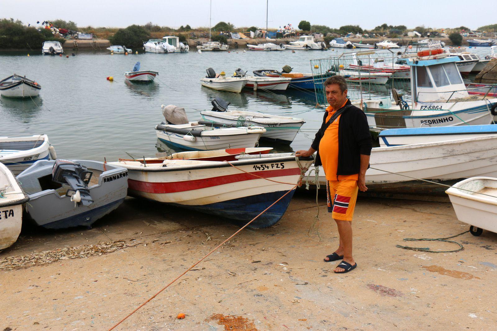 Bateaux de pêche à Olhão, Algarve (Portugal)