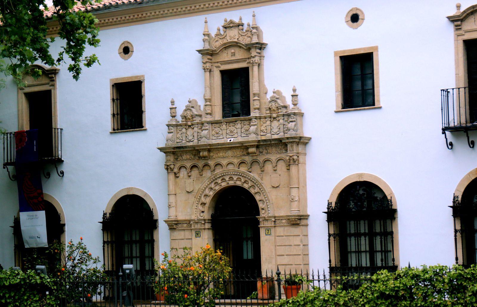 Pavillons de l'Exposition de 1929 à Séville (Andalousie)