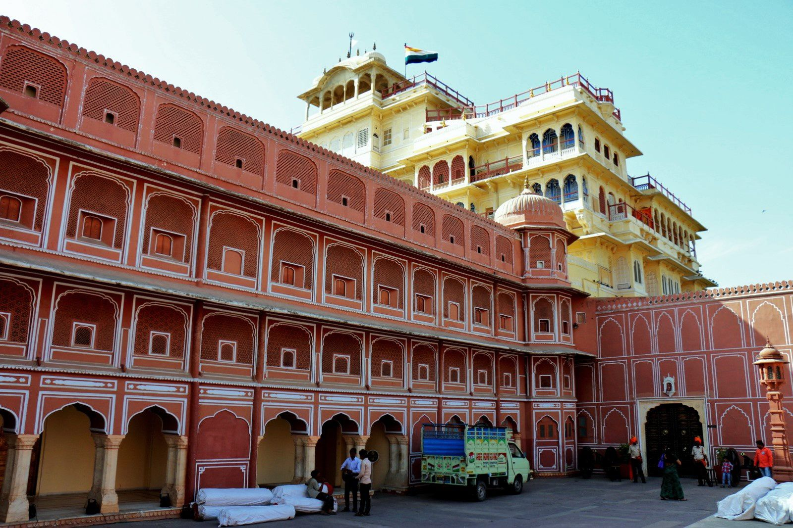 City Palace de Jaipur,  le Chandra Mahal