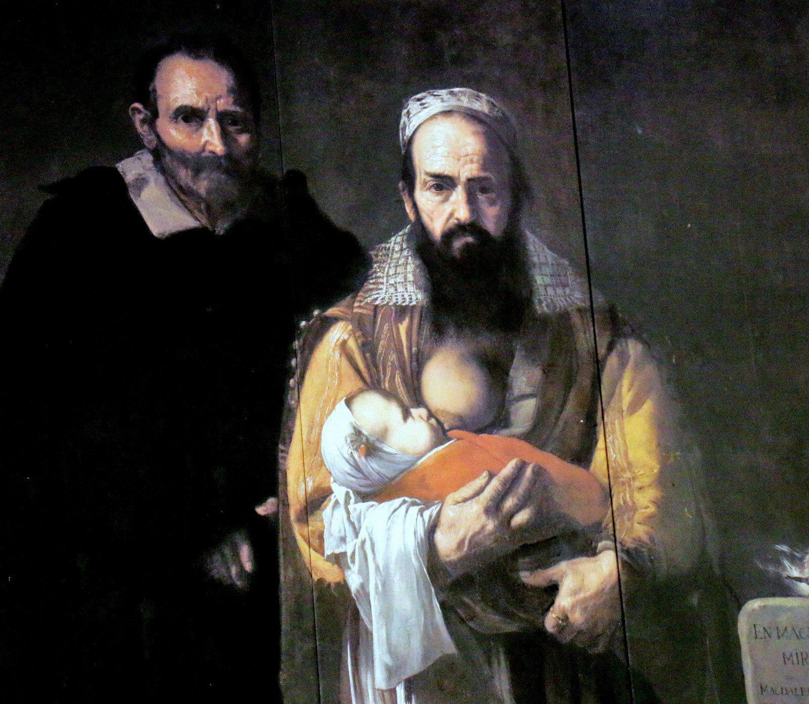 La femme à barbe (Ribera), Maison de Pilate (Séville)