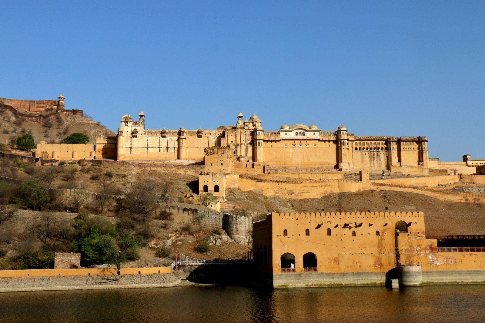 Forts d'Amber et de Jaigarh, Rajasthan (Inde)