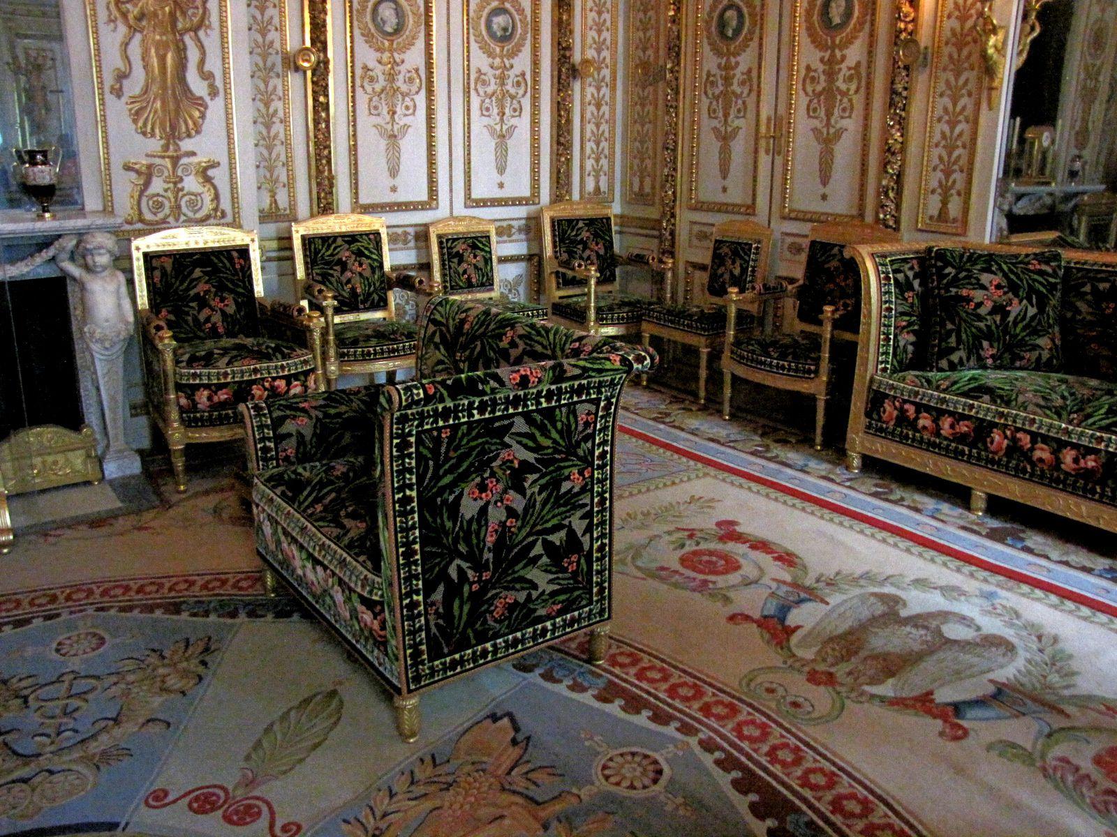 Chambre de l'Empereur, château de Fontainebleau