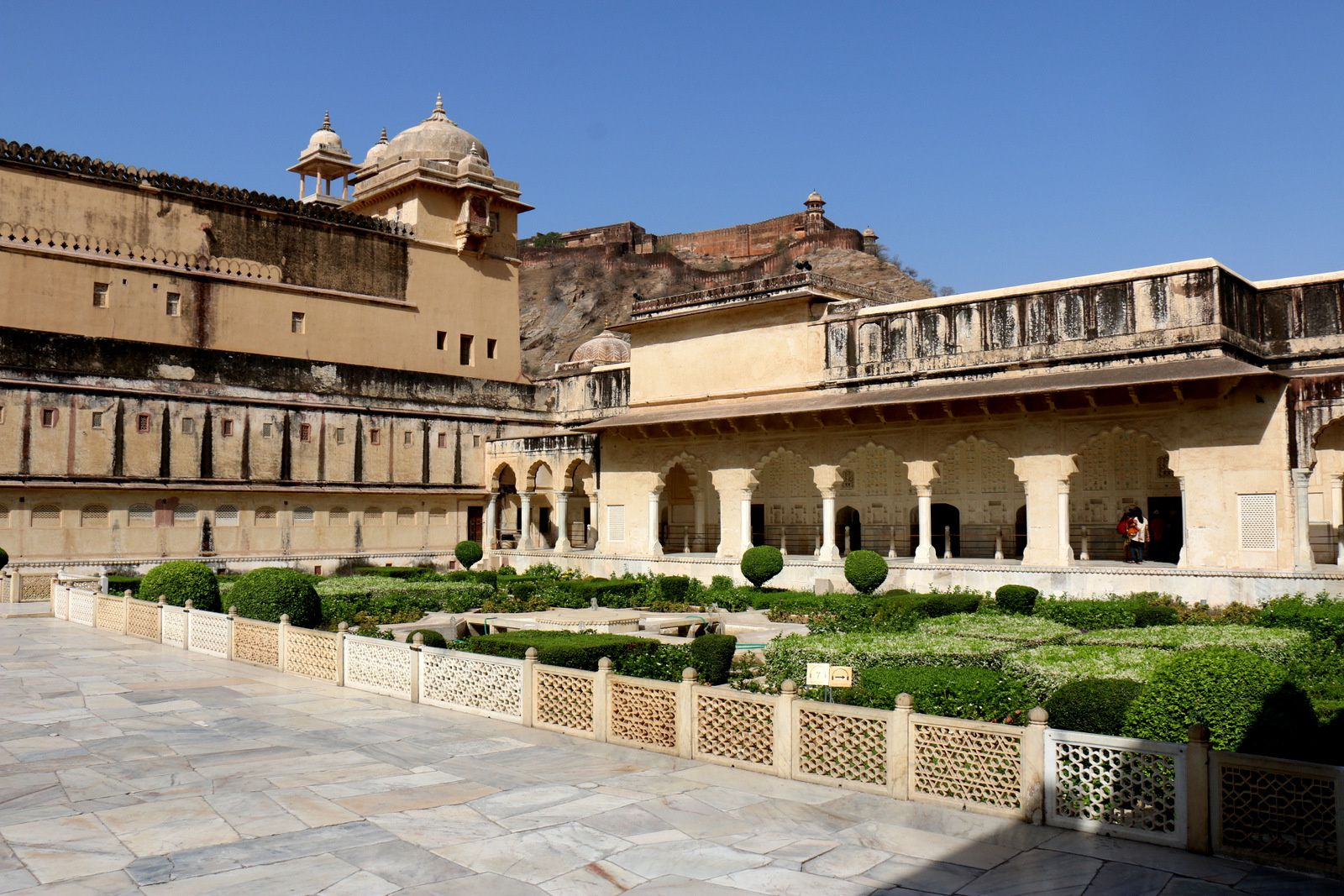 Diwan-i-Khas (hall des audiences privées), fort d'Amber