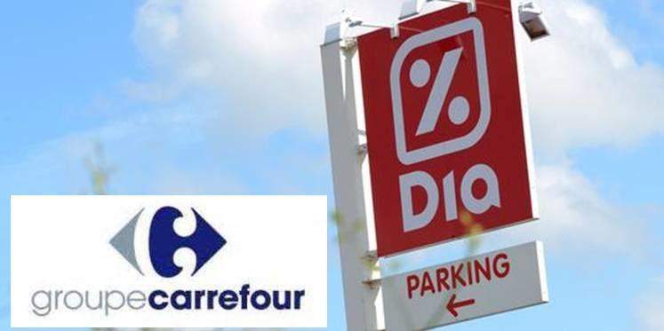 C'est officiel, Carrefour rachète 800 magasins Dia.