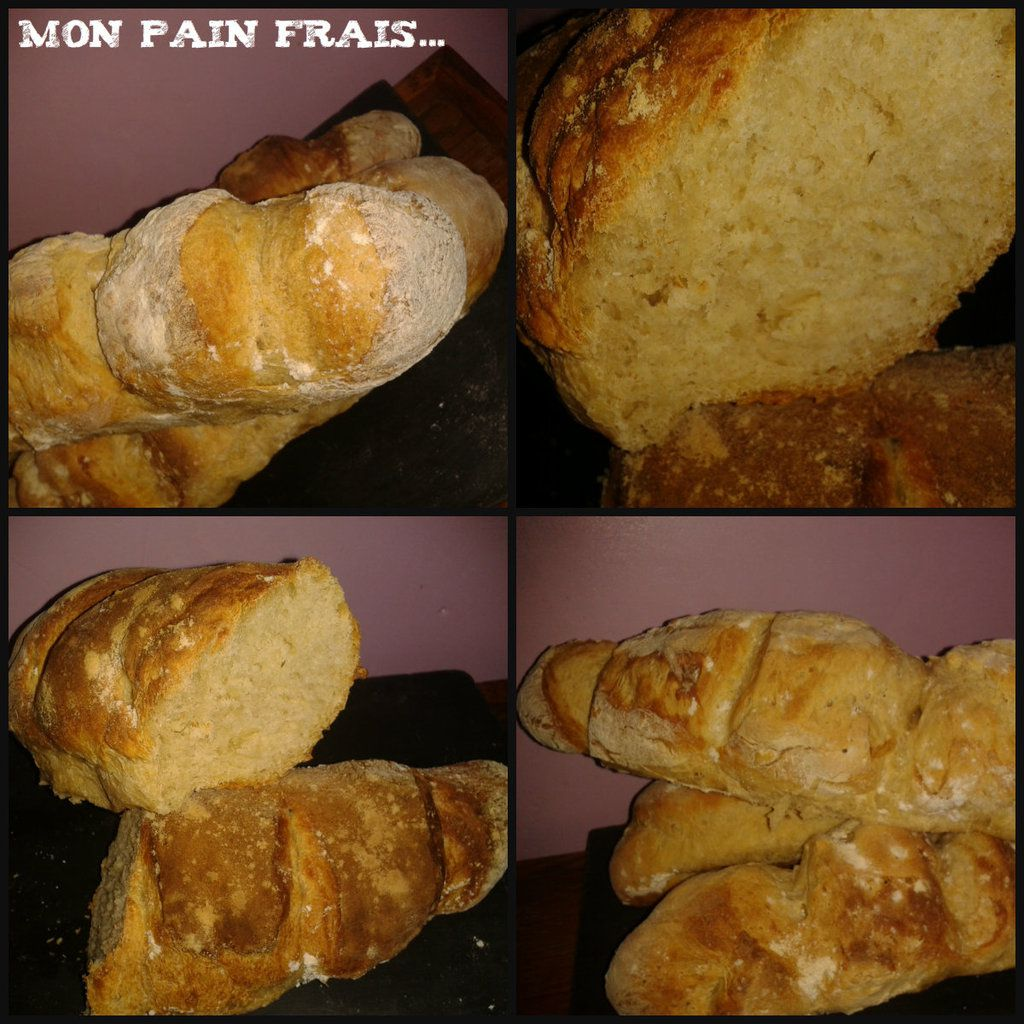 Baguette De Pain Maison Of Mes Baguettes De Pain Piq Re Cr Ative