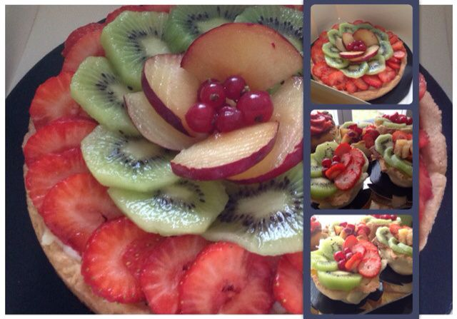 Tartelette aux fruits