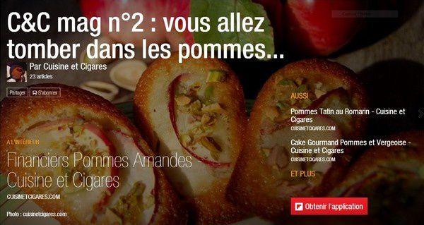 Nouveau Magazine de cuisinetcigares C&C mag n°2 : vous allez tomber dans les pommes...
