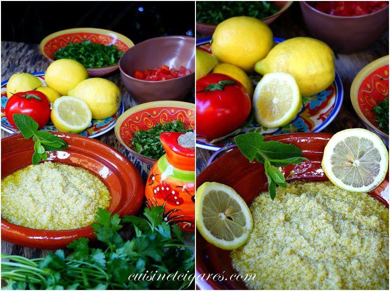 Le Taboulé libanais pour le premier Yummy Day !