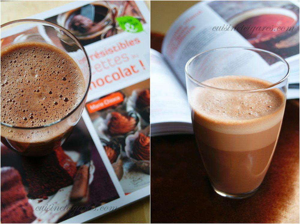 Chocolats Chauds à volonté &amp&#x3B; le dernier concours : &quot&#x3B;Mes irrésistibles recettes au chocolat !&quot&#x3B; de Marie Chioca à gagner !