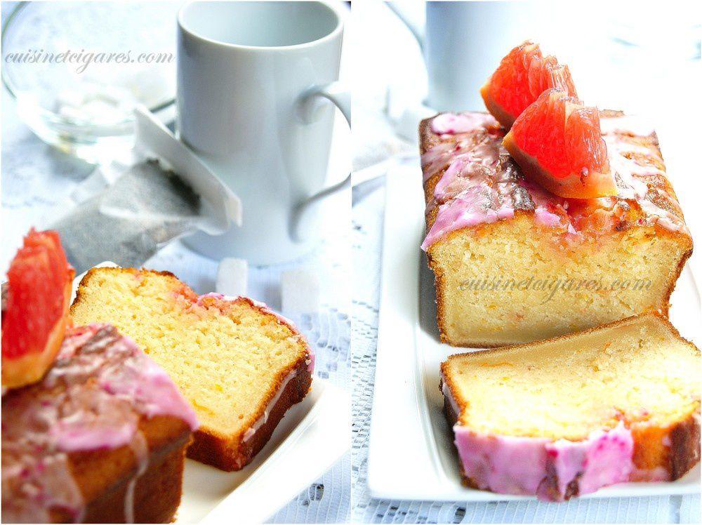 Sunshine Cake : un délicieux gâteau au Pamplemousse pour le MMM n°30