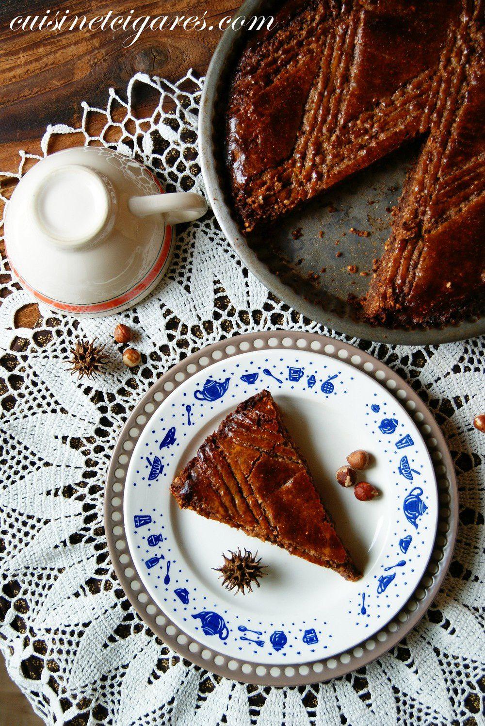 Une Galette... oui, mais pour tous les jours ! Bretonne, aux noisettes et au chocolat !