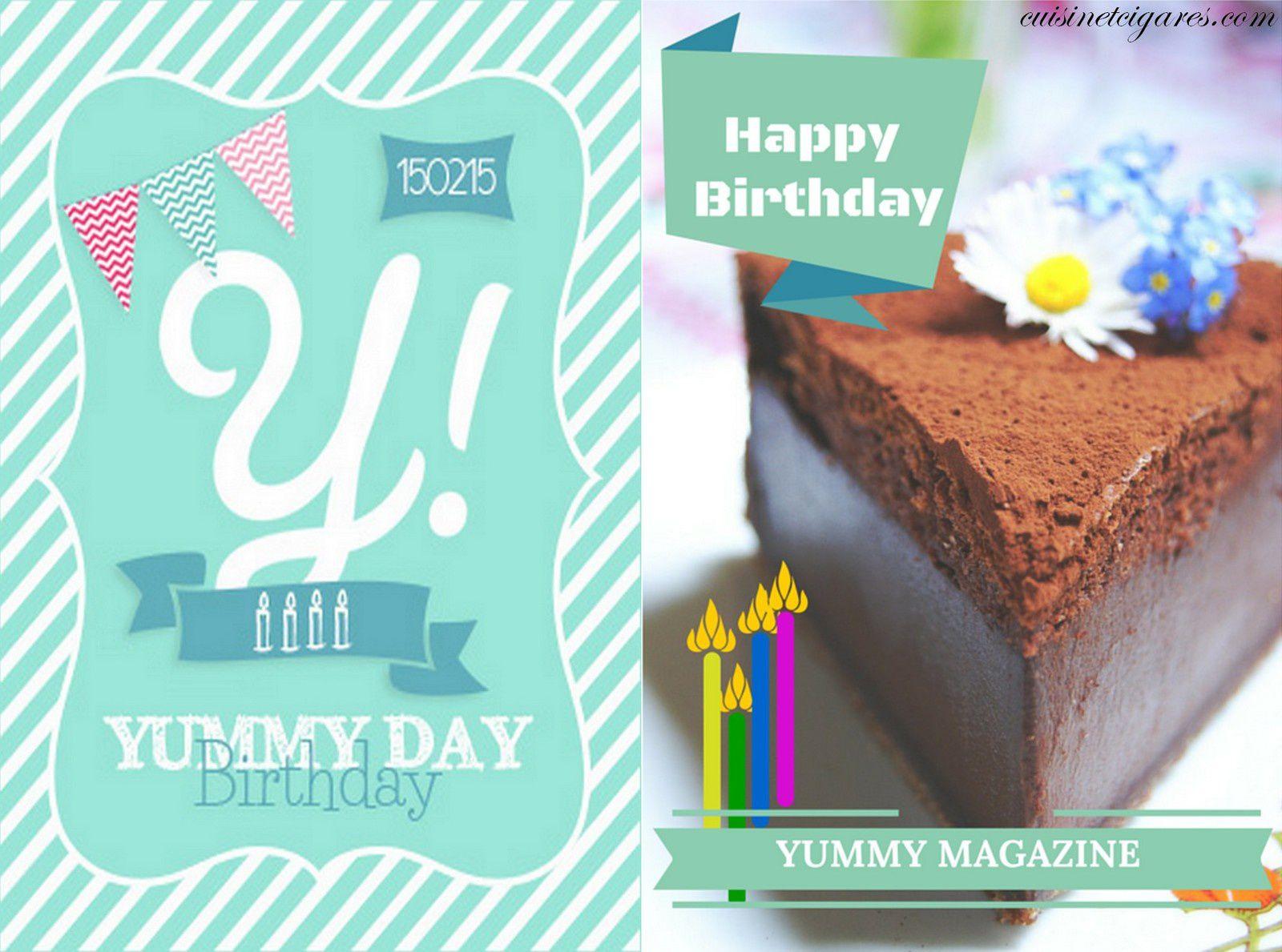 Gâteau Magique au Chocolat pour le Yummy Birthday Day
