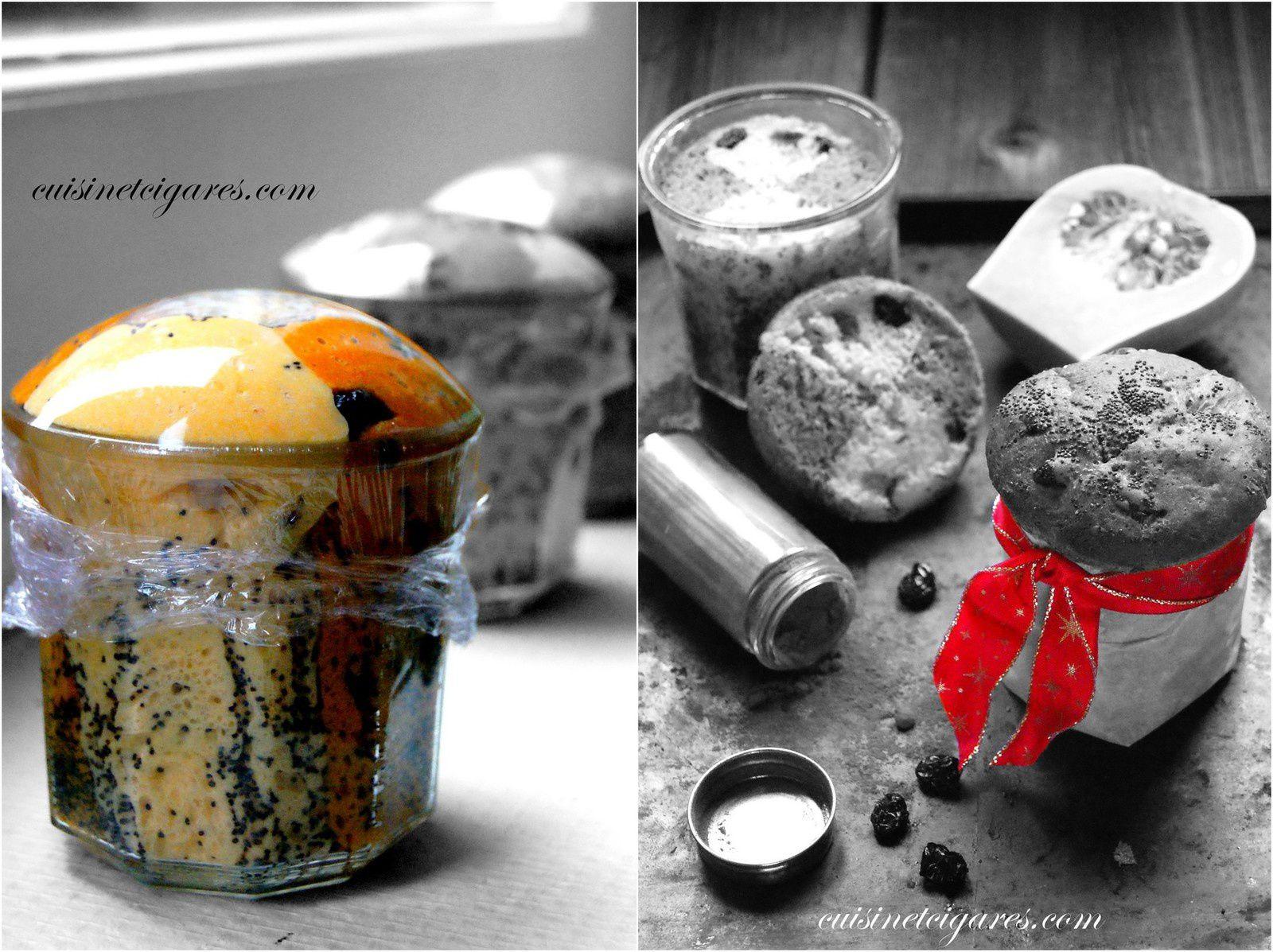 Pain sucré en bocal, à la Butternut, Paprika et Cranberries