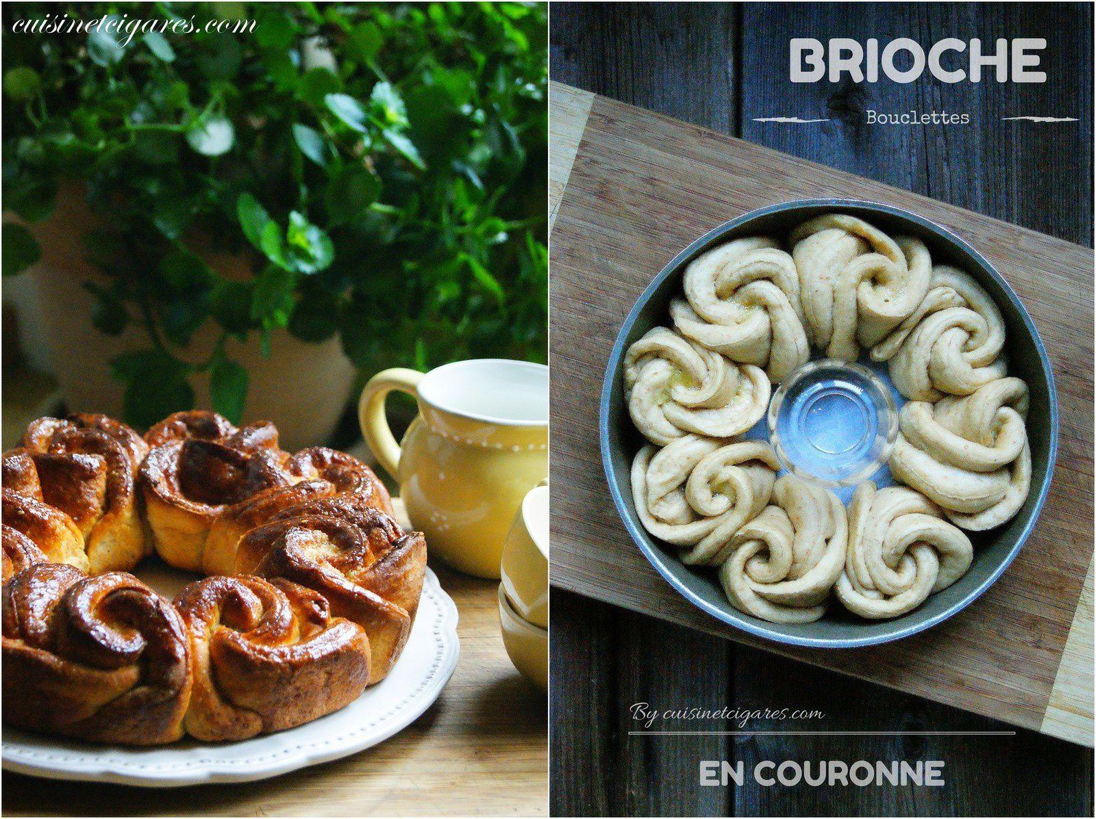 Brioche Bouclettes en Couronne