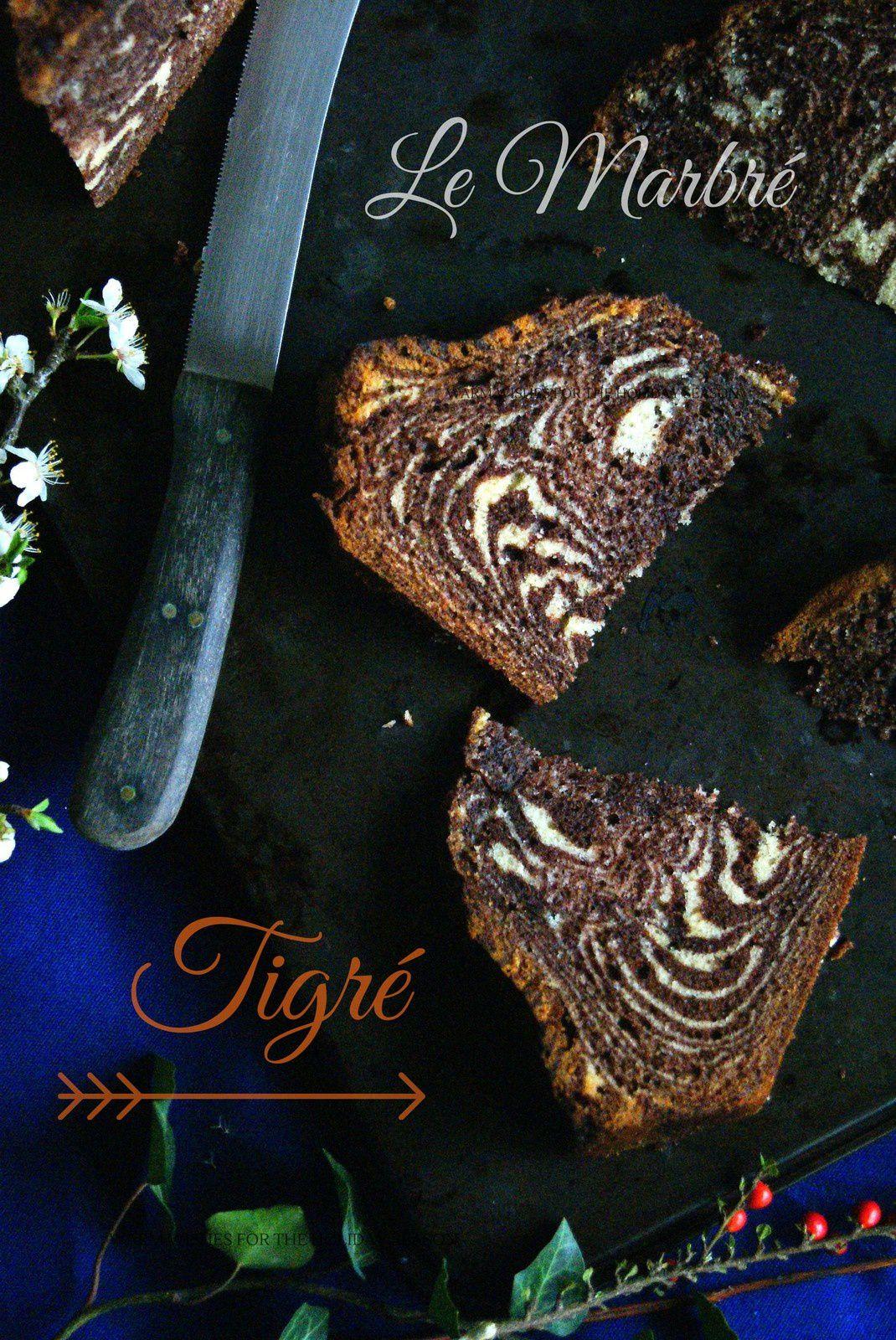 Le Marbré Tigré ou Zebra Cake