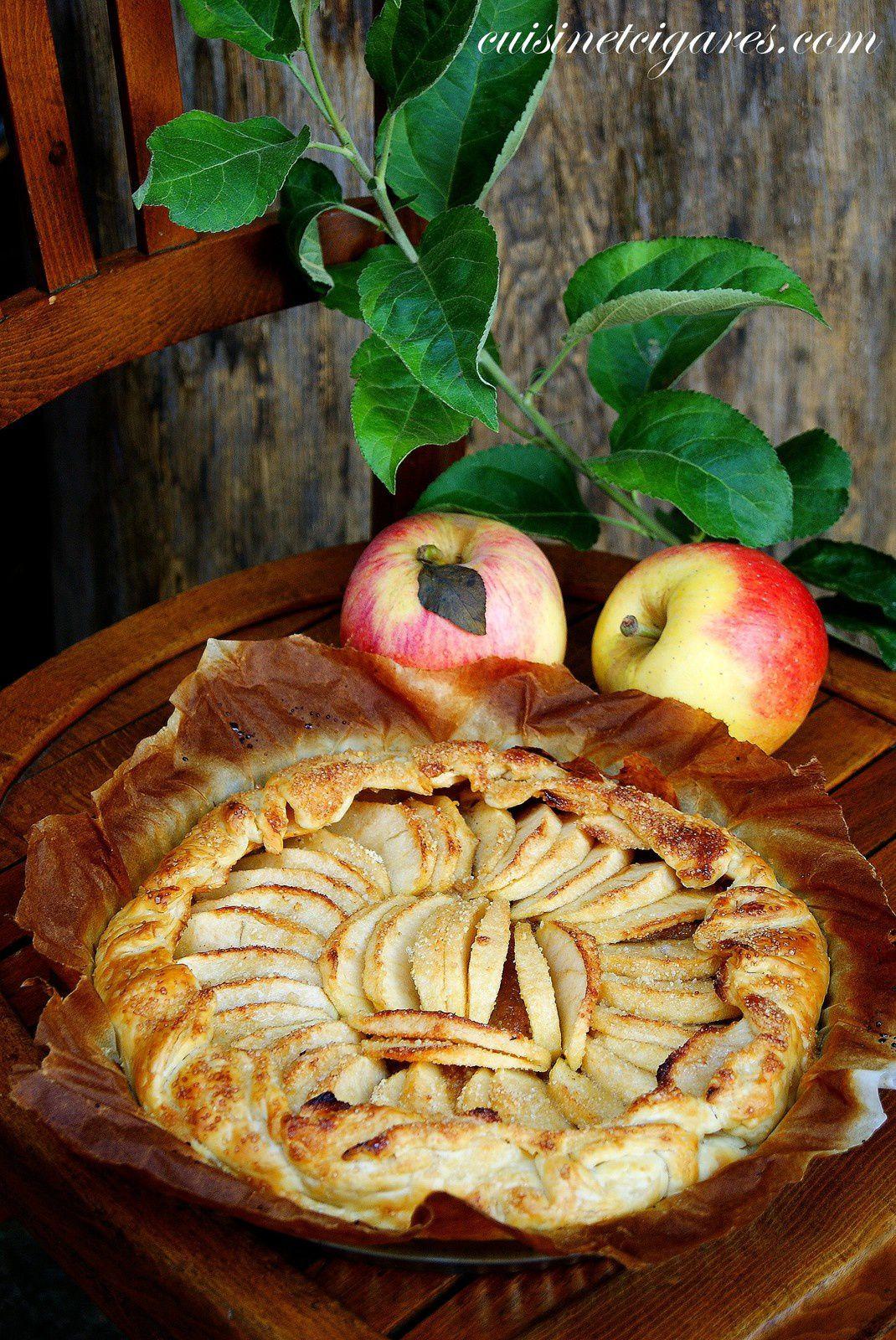 Pommes en Tarte / salée et sucrée