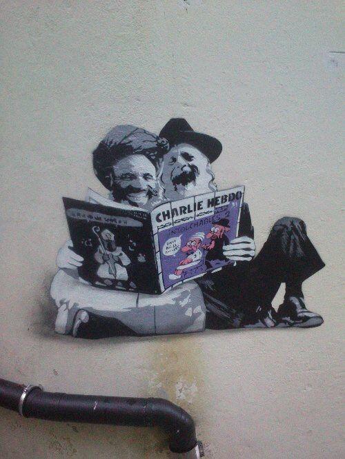 Charlie - Street Art - Bergen