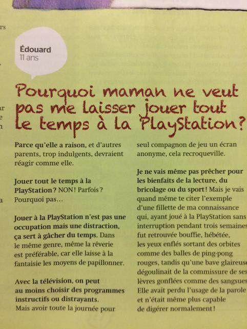 Philosophie Magazine n'aime pas les jeux vidéo