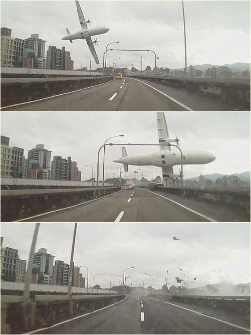 Crash d'avion à Taiwan