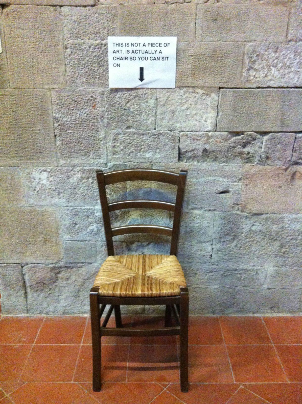 A l'expo Léonard de Vinci en Italie