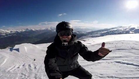 Lâcher de GoPro
