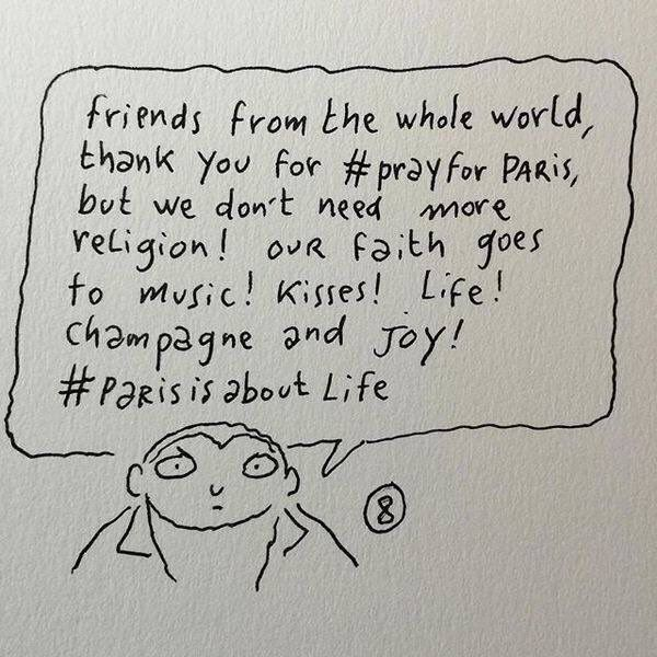 """Pray for Paris"". Sans moi..."