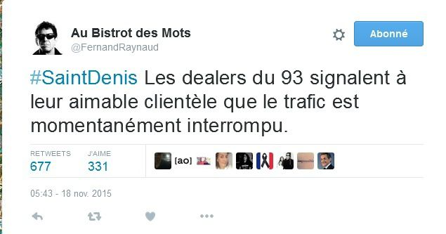 Trafic interrompu à Saint-Denis