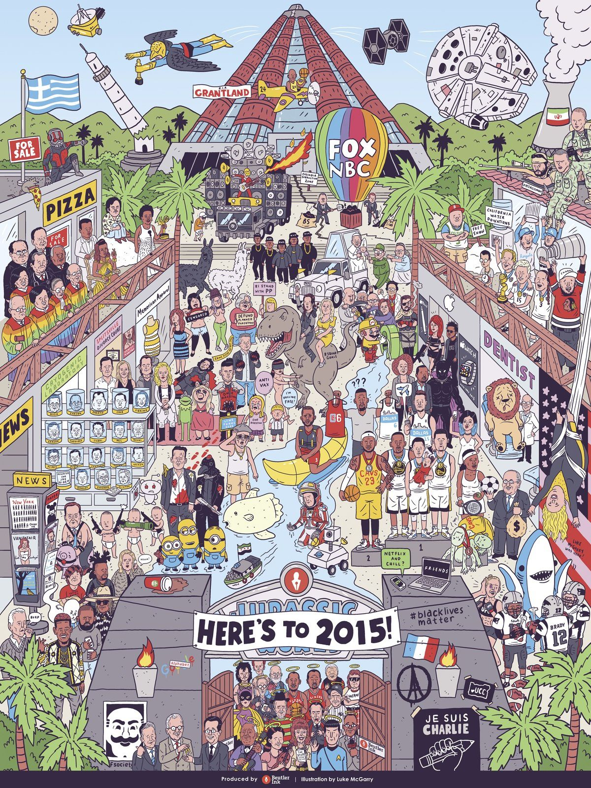 L'année 2015 par Luke McGarry