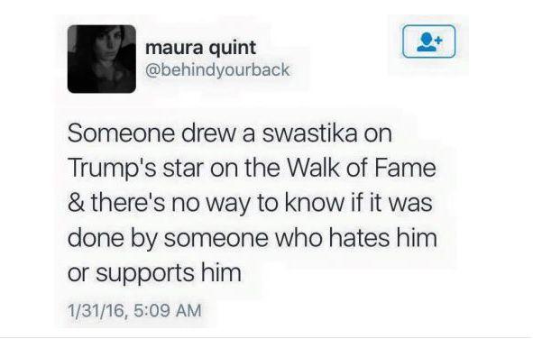 Trump et la swastika 卐
