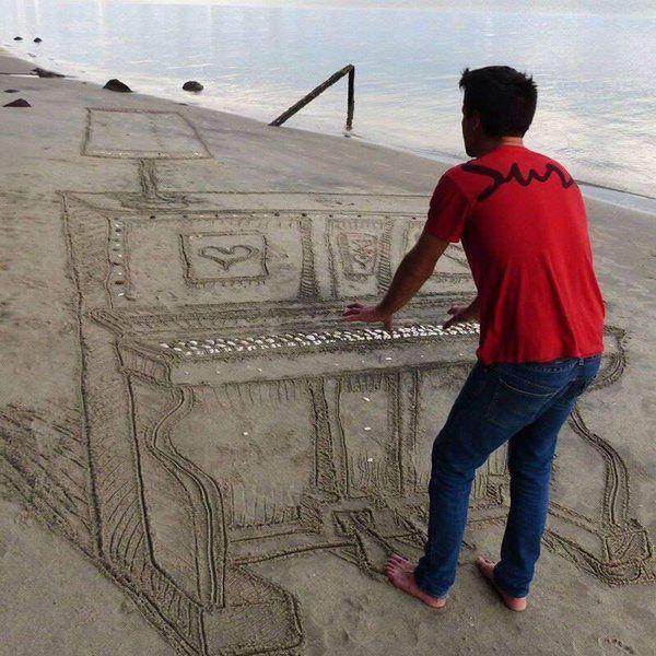 Musique à la plage
