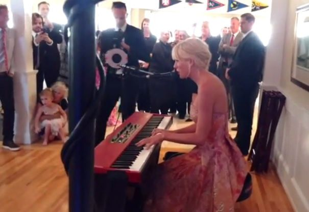 Taylor Swift crashes a fan's wedding and performs at the reception